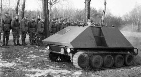 Mały Pojazd Gąsienicowy – ciekawa konstrukcja rodem z Piły