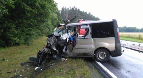 Kolejny wypadek na trasie Podgaje – Lędyczek