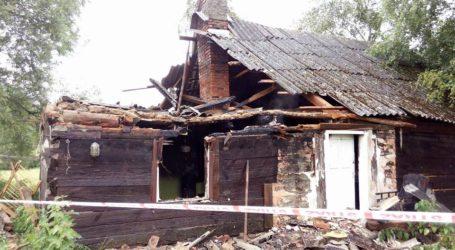 Poranny pożar w Żuławce