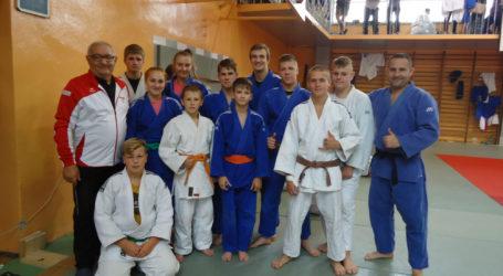 Pilscy judocy na obozie w Żywcu
