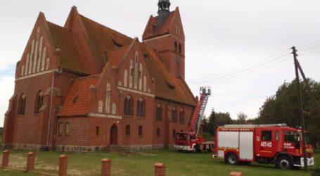 Strażacy kontrolowali kościoły