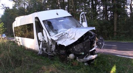 Wypadek busa pod Piłą