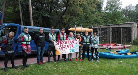 Akcja sprzątania świata – na rzece Łobzonce