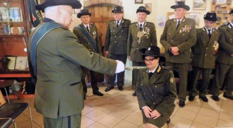 Kamila Helińska członkiem Bractwa Kurkowego w Wysokiej