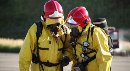 Ćwiczenia z zakresu ratownictwa chemiczno- ekologicznego