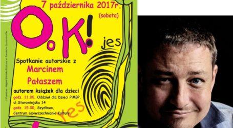 Książka jest OK. Spotkanie z Marcinem Pałaszem