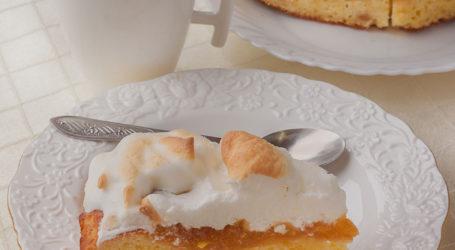 Ekspresowe ciasto z konfiturą pigwową