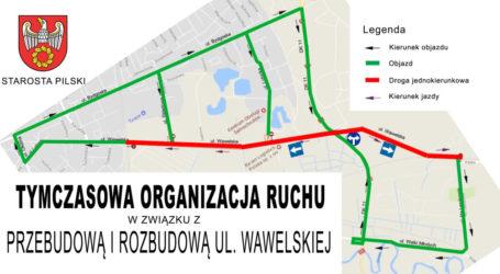 Uwaga! Nowa organizacja ruchu na Wawelskiej