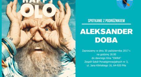 Zapraszamy na spotkanie z Aleksandrem Dobą