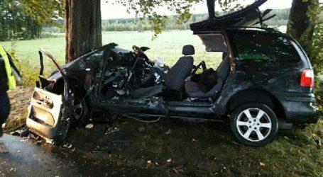 Poważny wypadek w Lipce
