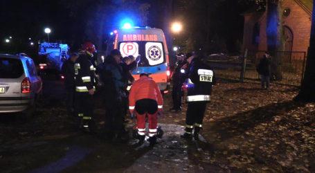 Uratowany mężczyzna zmarł w szpitalu