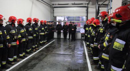 Nagrody i awanse pilskich strażaków
