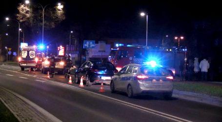 Pijany kierowca spowodował wypadek na Bydgoskiej