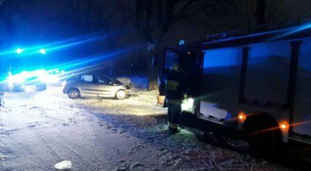 Poranny wypadek na trasie Piła – Szydłowo