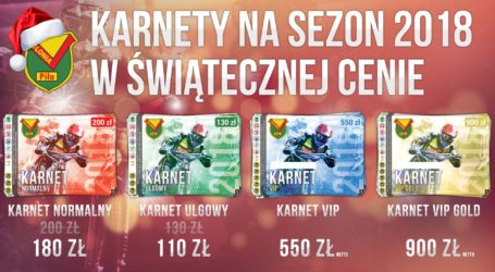 Rusza sprzedaż karnetów na Polonię. Do świąt promocyjne ceny!