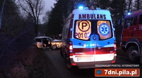 Wypadek na drodze Piła – Kalina