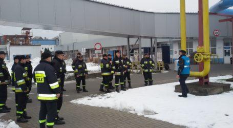 Strażackie ćwiczenia w Philipsie