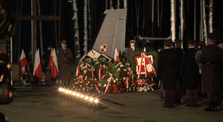 10. rocznica katastrofy CASY w Mirosławcu