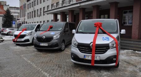 Nowe samochody dla WTZ i DPS