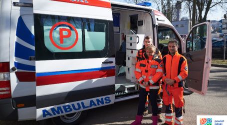 Nowy ambulans dla szpitala w Wyrzysku