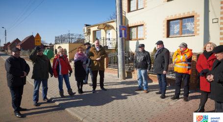 Otwarcie drogi w Bąkowie