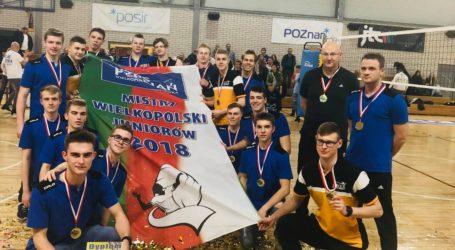 UKS SMS Joker Piła mistrzem Wielkopolski juniorów w piłce siatkowej