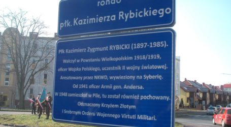 Rondo płk. K. Rybickiego w Pile