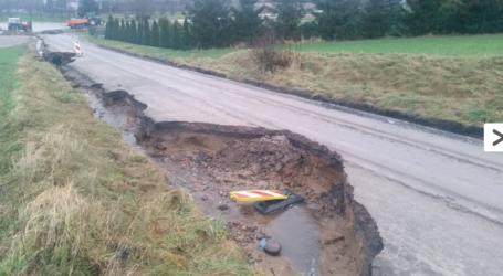 Ciężka sytuacja na drogach w Gminie Łobżenica