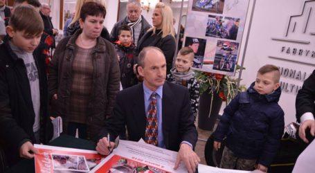 Hans Nielsen Honorowym Obywatelem Miasta Piły