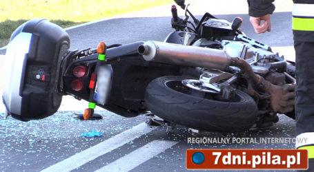 Wypadek w Kruszewie. 2 osoby ranne