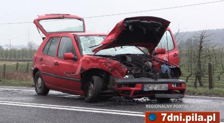 Wypadek w Pobórce Wielkiej