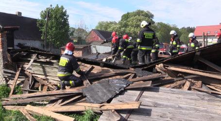Zobacz dramatyczną akcję strażaków z Piły