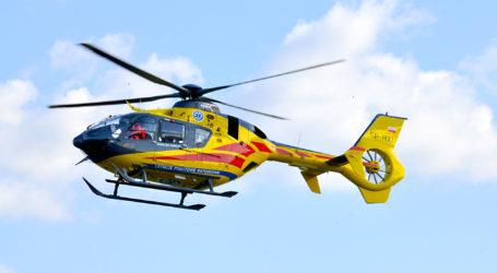 Poważny wypadek w Milczu. Lądował śmigłowiec LPR