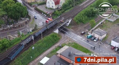 Wykoleił się pociąg we Wronkach