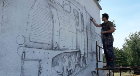 Powstaje nowy mural