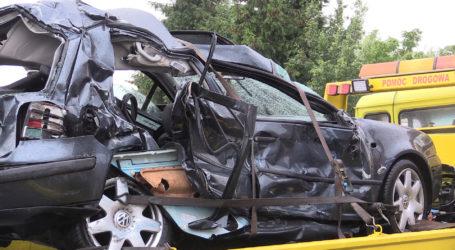 Śmiertelny wypadek koło Czarnkowa