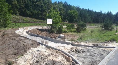 Budują ścieżkę rowerową Piła – Kaczory