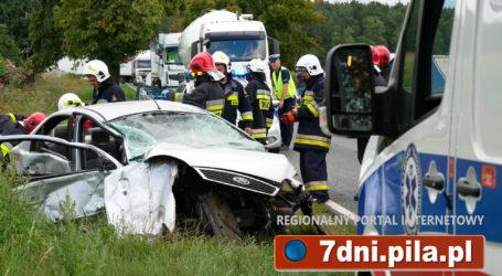 3 osoby ranne w wypadku między Grabównem a Okalińcem