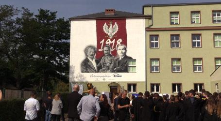 Kolejny patriotyczny mural w Pile