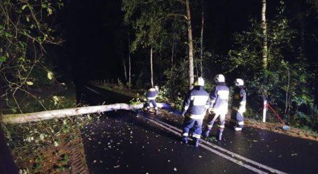 Nocny wyjazd strażaków