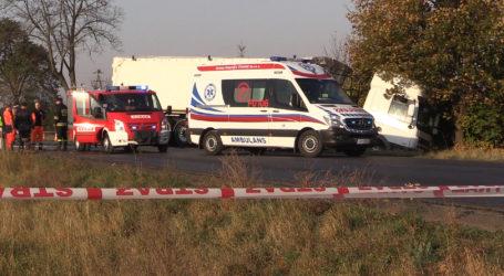 Śmiertelny wypadek w Pobórce Wielkiej