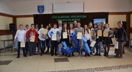 Eliminacje do XVIII Olimpiady Ekologicznej w Szydłowie