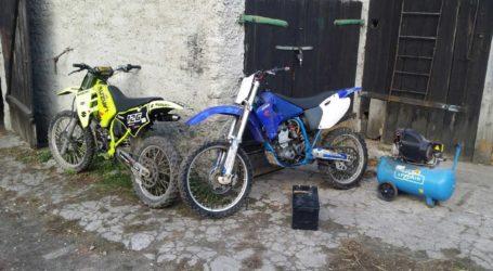 Policja zatrzymała złodziei motocykli