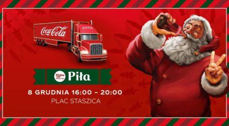 Świąteczna ciężarówka Coca-Cola zawita do Piły