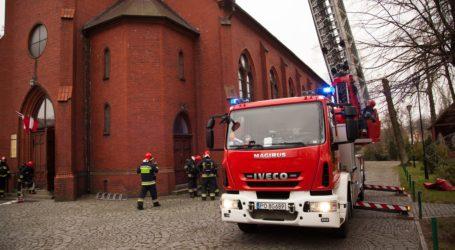 Pożar w kościele