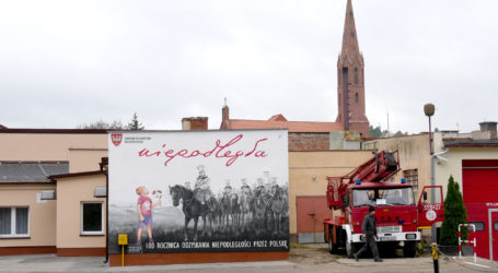 Niepodległościowe murale w Wyrzysku