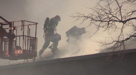 Potężny pożar w Śmiardowie Krajeńskim