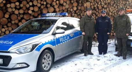 Świąteczna Akcja Policji i Straży Leśnej
