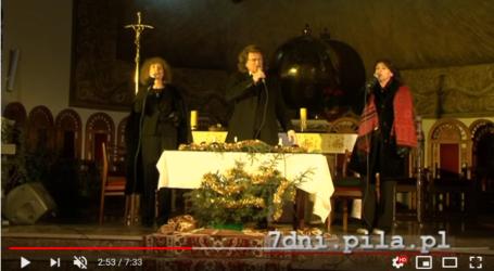 Kolędy w wykonaniu Z. Wodeckiego, A. Majewskiej i H. Frąckowiak