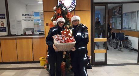 Mikołajkowa wizyta w szpitalu